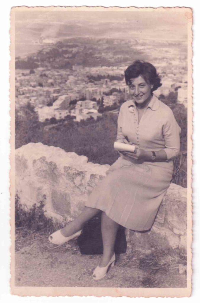 כתבת מתחילה בחיפה בשנת 1961, שנתיים אחרי עלייתי