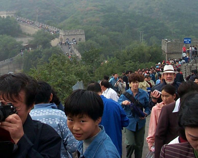 איציק ונוקי על חומת סין