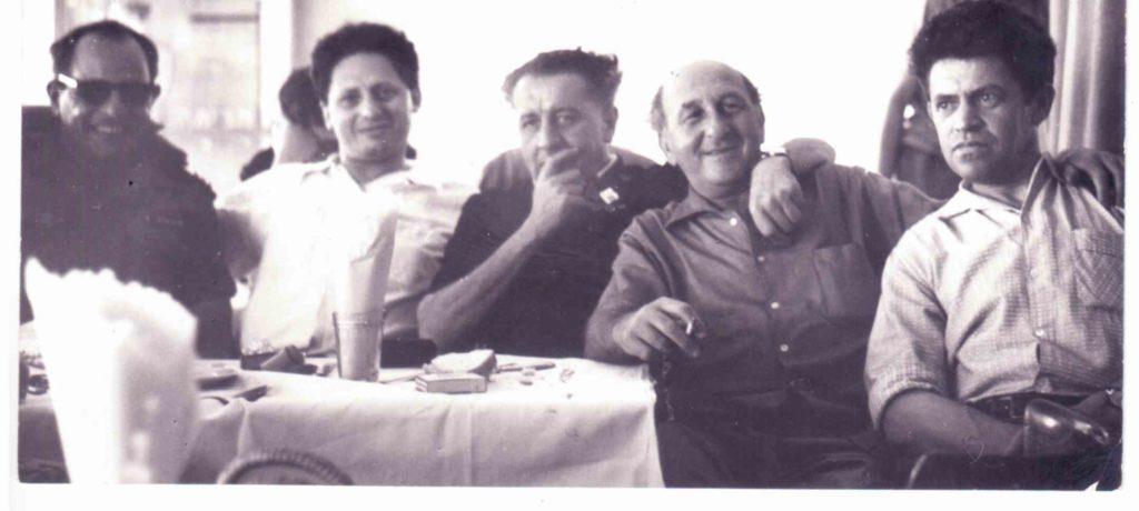 כסית 1958 עם אמיר גלבוע נתן אלתרמן