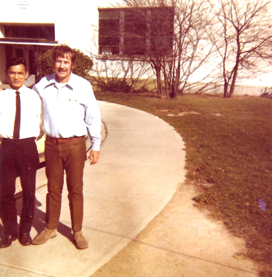 fort benjamin 1971.american military schoole for radio and tv. with sout vietnamese mate