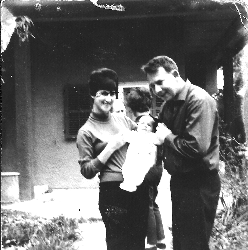 noki and itzik with first baby gali